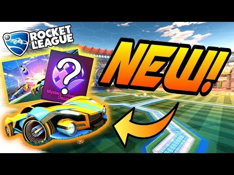 Rocket League Update: NEW WHEELS, CAR, MYSTERY DECAL? Black Market? (Gameplay/February CRATE NEWS)