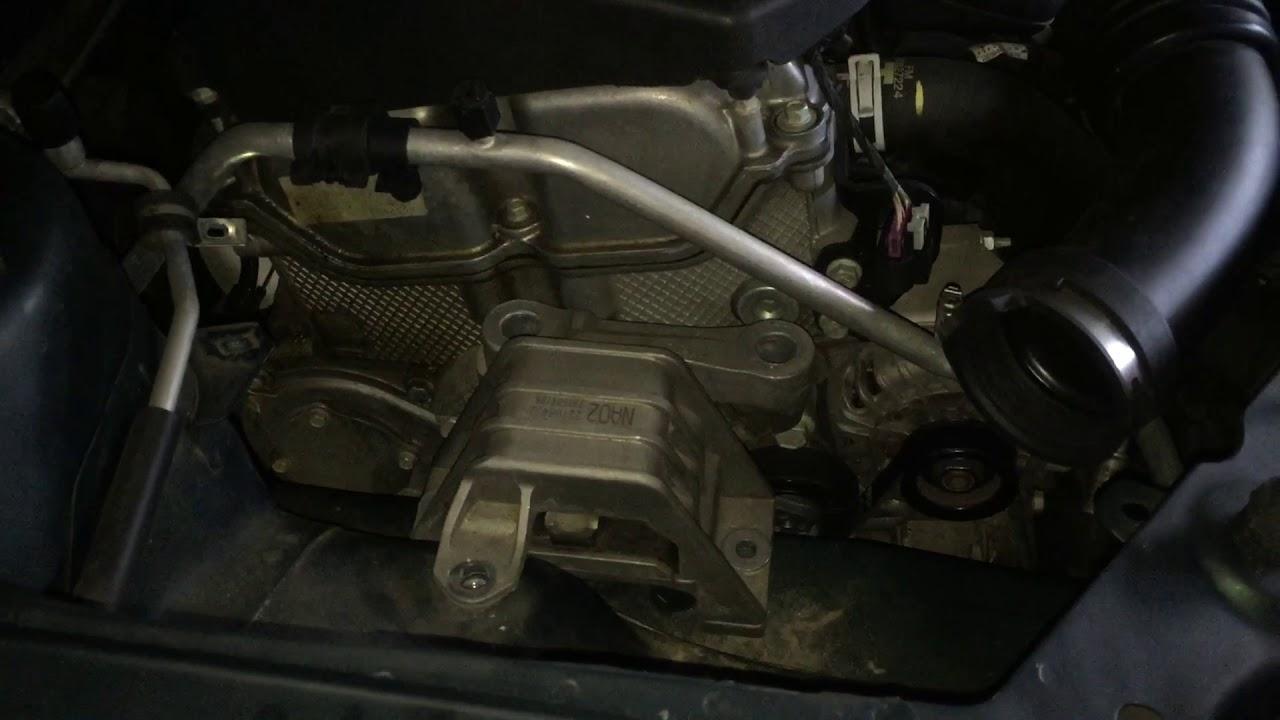 2007 pontiac g6 2 4l 4dr sedan base model tensioner pulley replacement and  serpentine belt