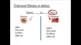 Бесплатный урок 8. Курсы русского как иностранного. Ударение и редукция