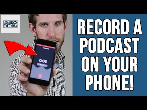 How To Record A Podcast On Your Phone (Anchor Podcast Review)