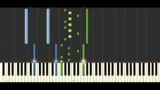 Schubert Impromptus Op. 90 [D. 899] No. 3 - Piano Tutorial - Synthesia