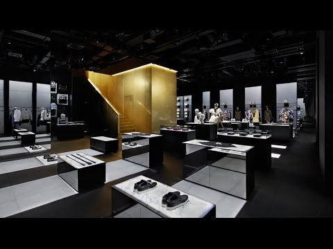 0dae42dd5a96 Golden staircase sits at centre of Curiosity's D&G Aoyama store