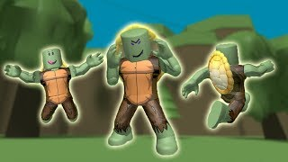 ROBLOX: THE OLD MAN HAS BECOME A NINJA TURTLE! (Turtle Simulator)-Play Old man