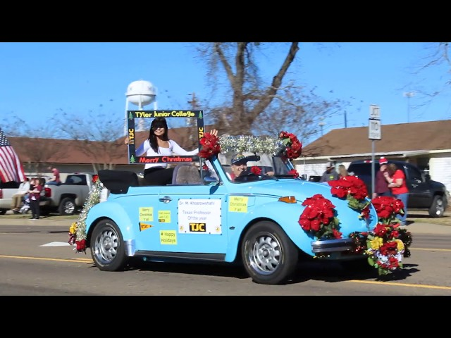 TJC at Whitehouse Christmas Parade: Meet the Texas Prof. of the Year (12/1/2018)