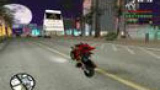Shadow the Hedgehog in San Andreas