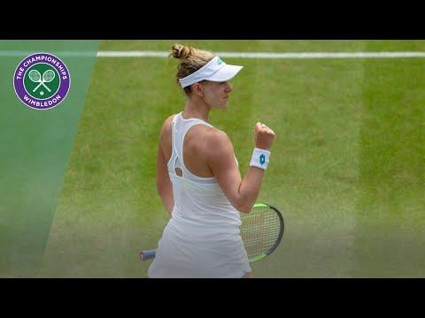 Ash Barty vs Alison Riske Wimbledon 2019 fourth round highlights
