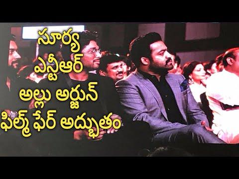 62nd Jio filmfare awards 2017 south Best Actors Suriya I Jr.Ntr I Allu arjun