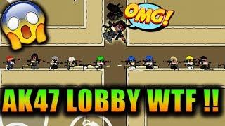 Mini Militia AK47 6vs6 Lobby MOD !! FAILS and WTF EPIC MOMENTS !! Doodle Army 2: Mini Militia #124