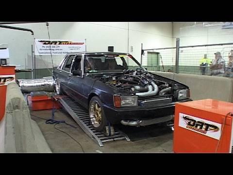 Summernats 23  Turbo V8 Ford LTD dyno  YouTube