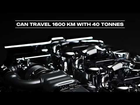 Moteur Scania 13 litres gaz