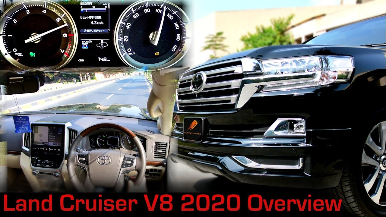Toyota Land Cruiser ZX (V8) Full Review | Pakistan | BloomBig Studio