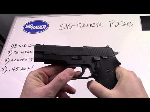 Sig Sauer P220 Full Size Review