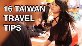 16 Taiwan travel tips