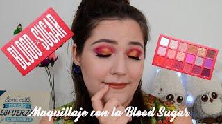 Maquillaje con Blood Sugar Palette by Jeffree Star Cosmetics