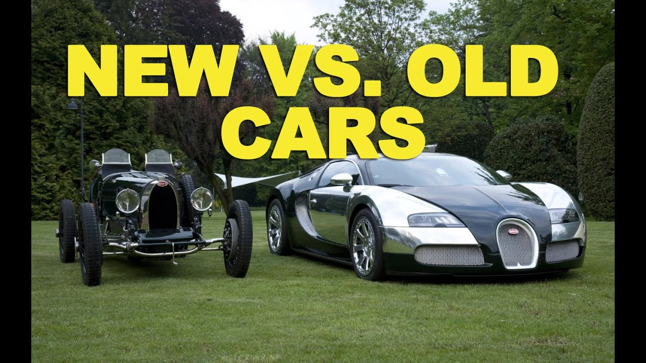 New Vs Old Cars ETCG YouTube - Pictures of old cars