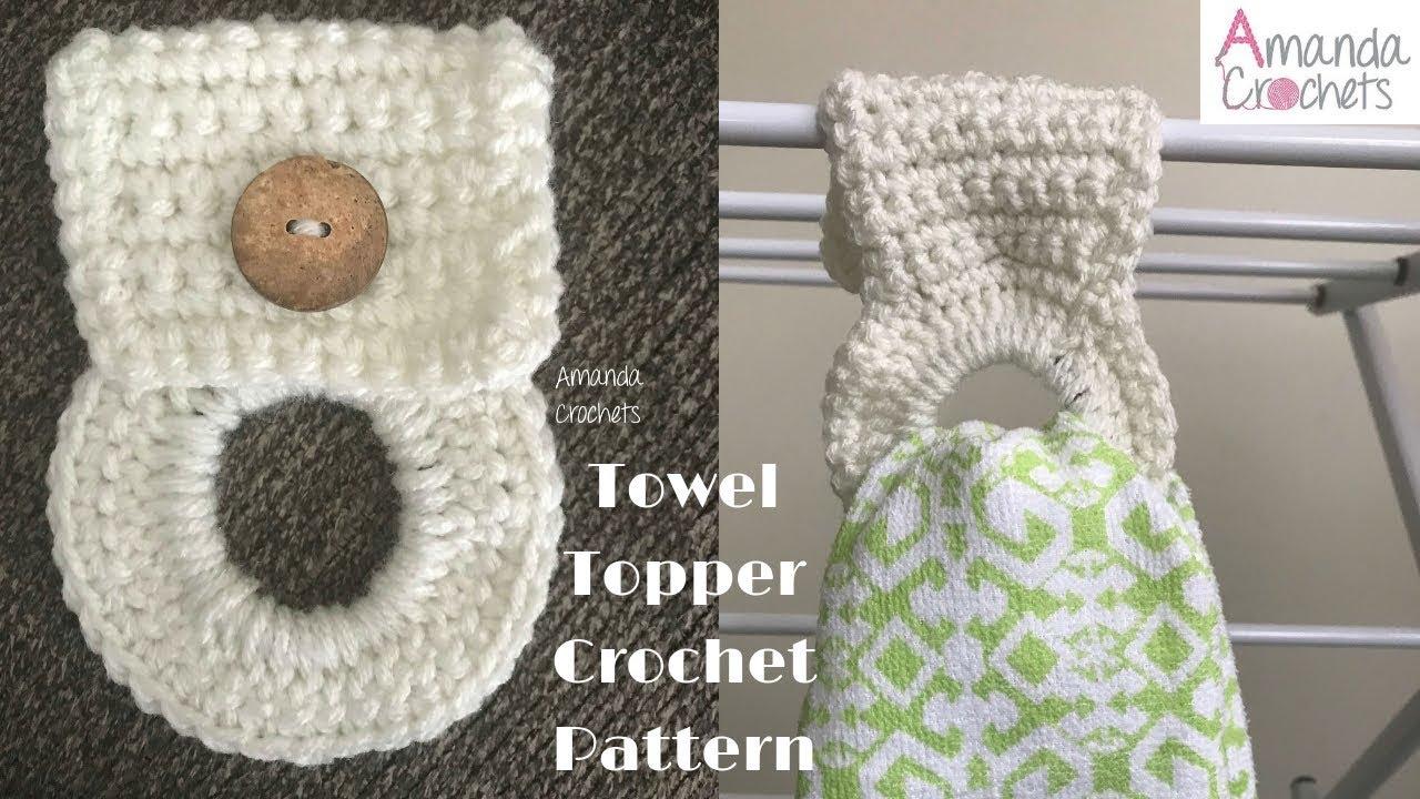 Towel Topper Beginner Crochet Pattern