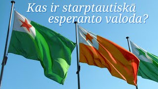 Kas ir starptautiskā esperanto valoda? Vārdu nobeigumi. Esperanto latviski, nr. 1.