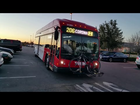 Temecula to Corona Morning Commute: Park & Ride, RTA CommuterLink Bus Route 206 and Corona Cruiser