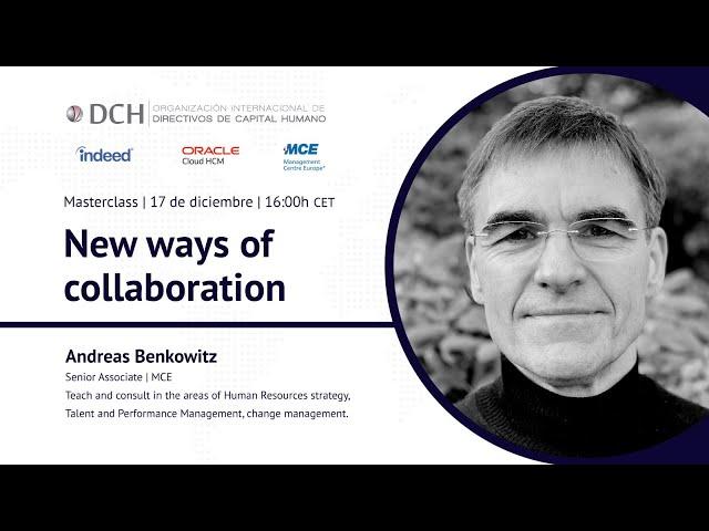 New ways of collaboration | Andreas Benkowitz