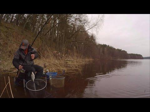 рыбалка в апреле на фидер на прудах