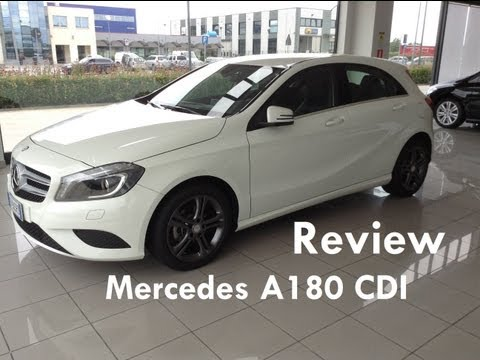 Mercedes-Benz A180 CDI Sport review - Revisione Mercedes-Ben