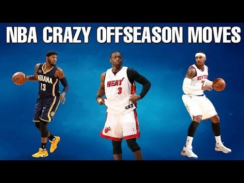 NBA CRAZY OFFSEASON MOVES