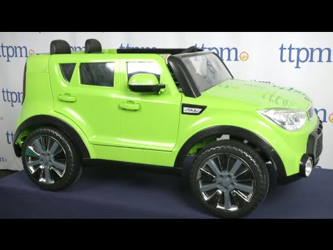 Kia Sing-Along Soul from KidTrax