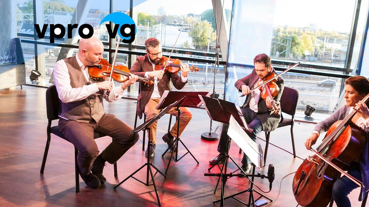 Cuarteto Quiroga Brahms String Quartet No 2 Opus 51 Live