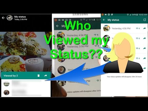 Whatsapp See Who Viewed Your Status And Add Multiple Status Slides