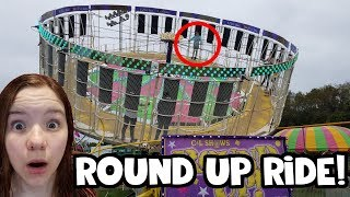 The Round Up carnival ride! Fall Festival Fun