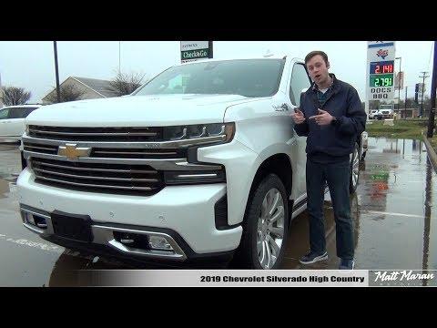 Review: 2019 Chevy Silverado 1500 High Country
