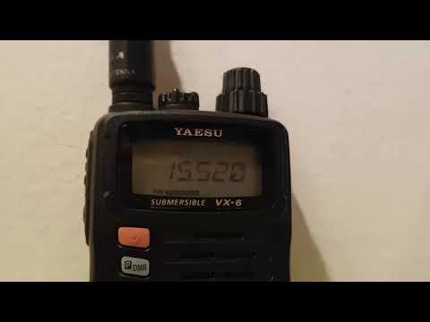 15520  kHz: Radio Exterior de España in Tel Aviv
