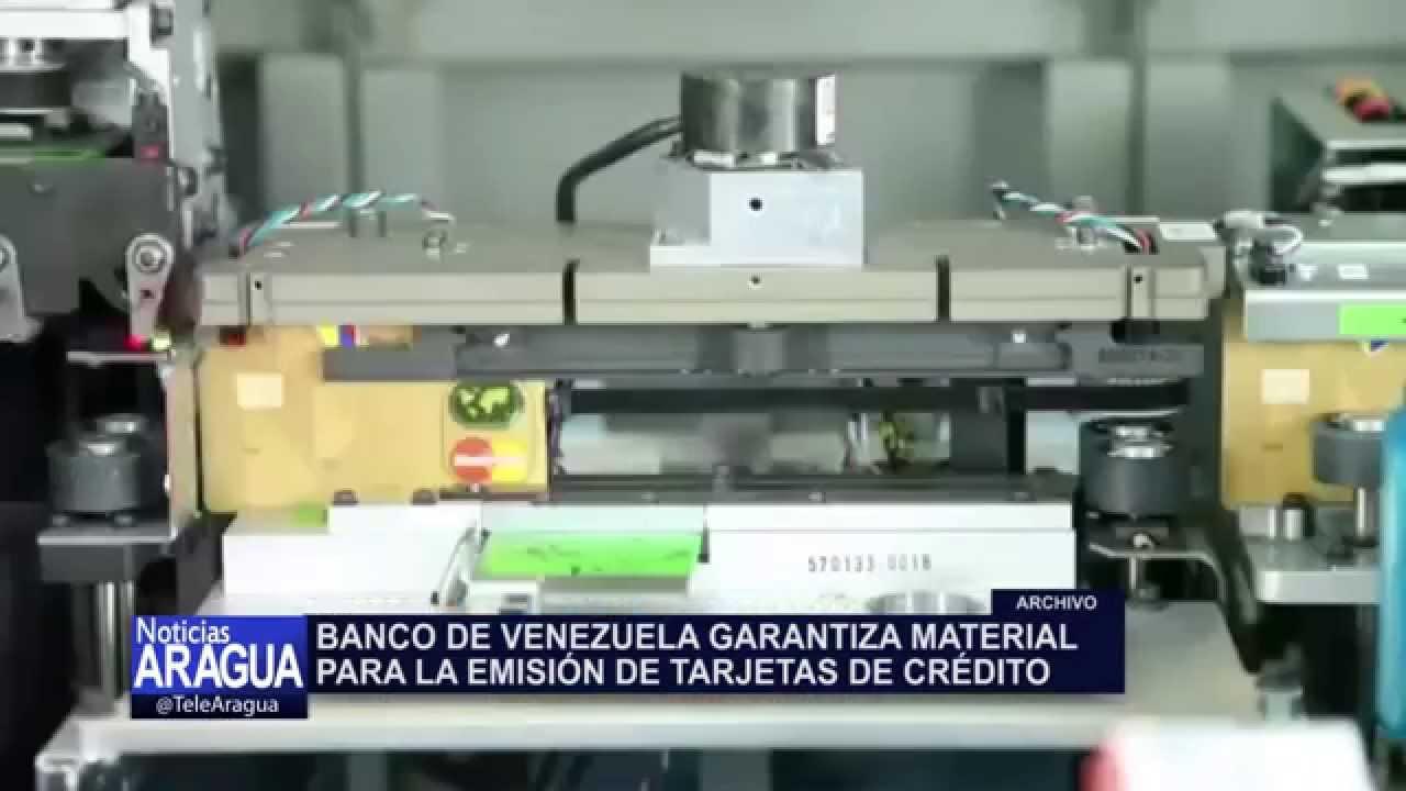 Banco de venezuela garantiza emisi n de tarjetas de for 0banco de venezuela