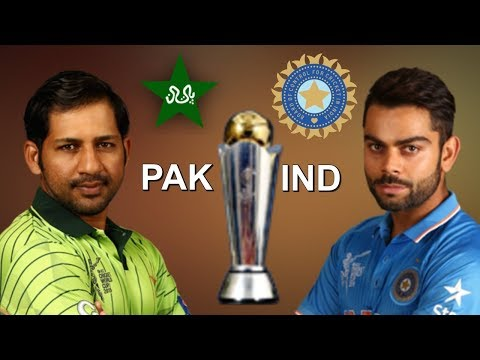 Pakistan VS India ICC Champions Trophy 2017 Live Streaming and Score Card Update