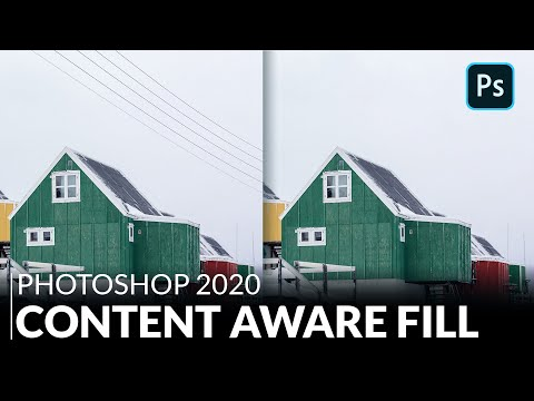 Testing The New Content Aware Fill   Photoshop 2020
