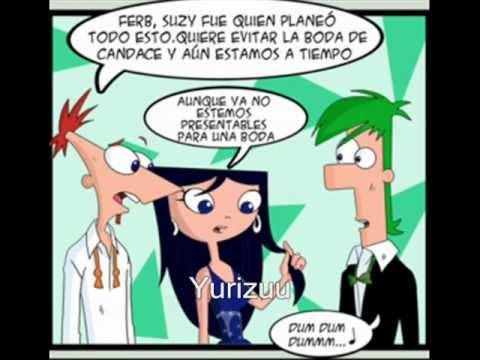 部長 【飛哥和小佛】Phineas y Ferb - Boda imposible comic 21不知道這是不是官方還是同人的漫畫,傑洛西怎麼讀,這個有分集數可以 ...