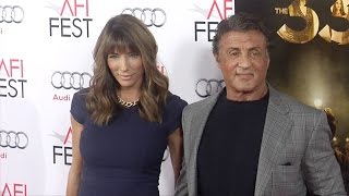 Sylvester Stallone & Jennifer Flavin Red Carpet Style