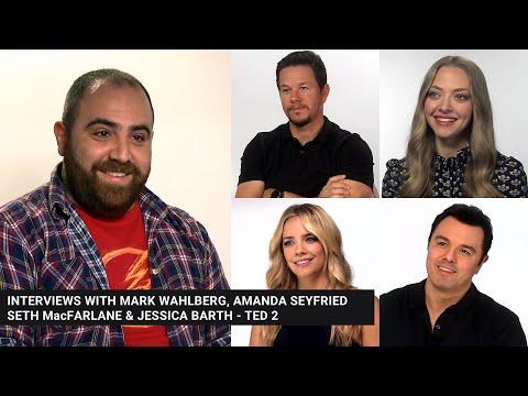 Dimitri G interviews Mark Wahlberg Amanda Seyfried Jessica Barth & Seth MacFarlane