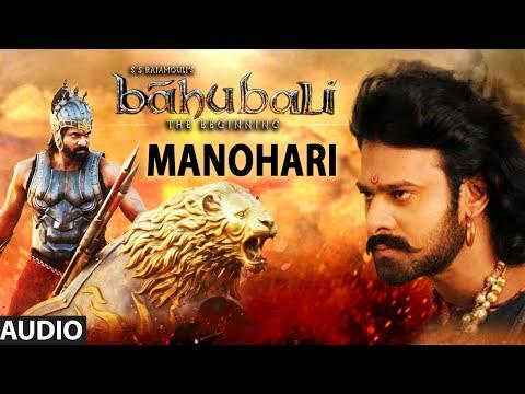 Baahubali Songs | Manohari Full Song | Prabhas,Anushka Shetty,Rana,Tamannaah | M M Keeravani