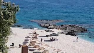 Плака. Пелион. Греция. Παραλία  Πλάκας. Пляж. Пляжи Греции.