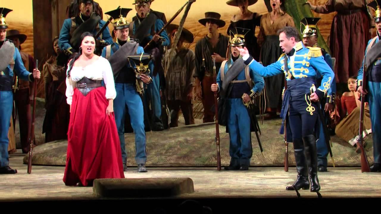 L'Elisir d'Amore: Act I Excerpt -- Netrebko, Polenzani, Kwiecien (Met Opera)