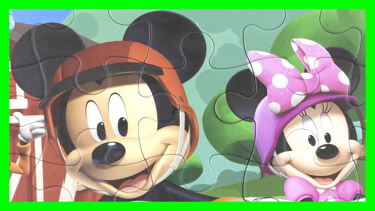 Mickey Mouse Clubhouse Puzzles | ミッキーマウス パズル | Клуб Микки Мауса | Rompecabezas Mickey Mouse | Disney