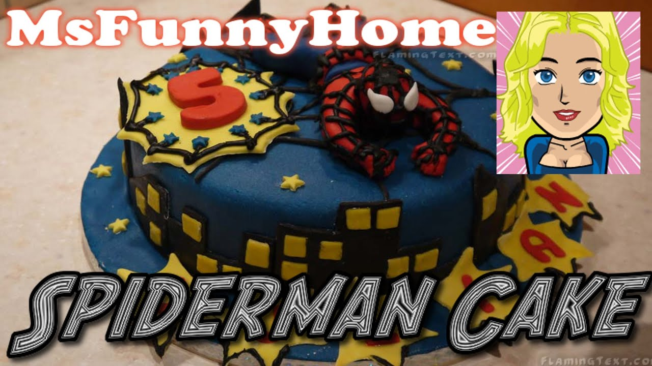 tutorial spiderman topper how to make aus fondant. Black Bedroom Furniture Sets. Home Design Ideas