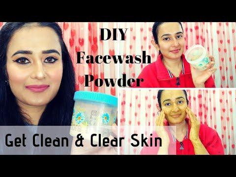DIY Face Wash | Get Clean & Clear Skin | Homemade Face Wash Powder | SWATI BHAMBRA