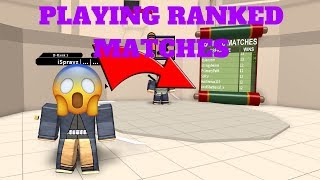NRPG: BEYOND| CLOSE RANGE OP??? (RANKED MATCHES) [ROBLOX]