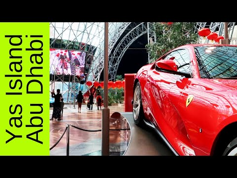 Ferrari World Abu Dhabi, Warner Bros. World, Yas Mall and more all in Yas Island Abu Dhabi.