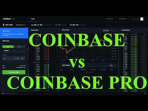 CoinBase BASE vs CoinBase PRO ( intervista a Luca ) TUTTO IN ITALIANO