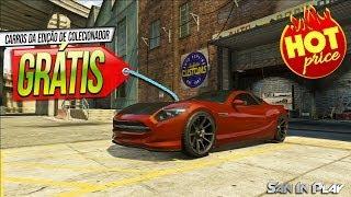 GTA V: Como pegar carros da Edição de Colecionador Grátis!