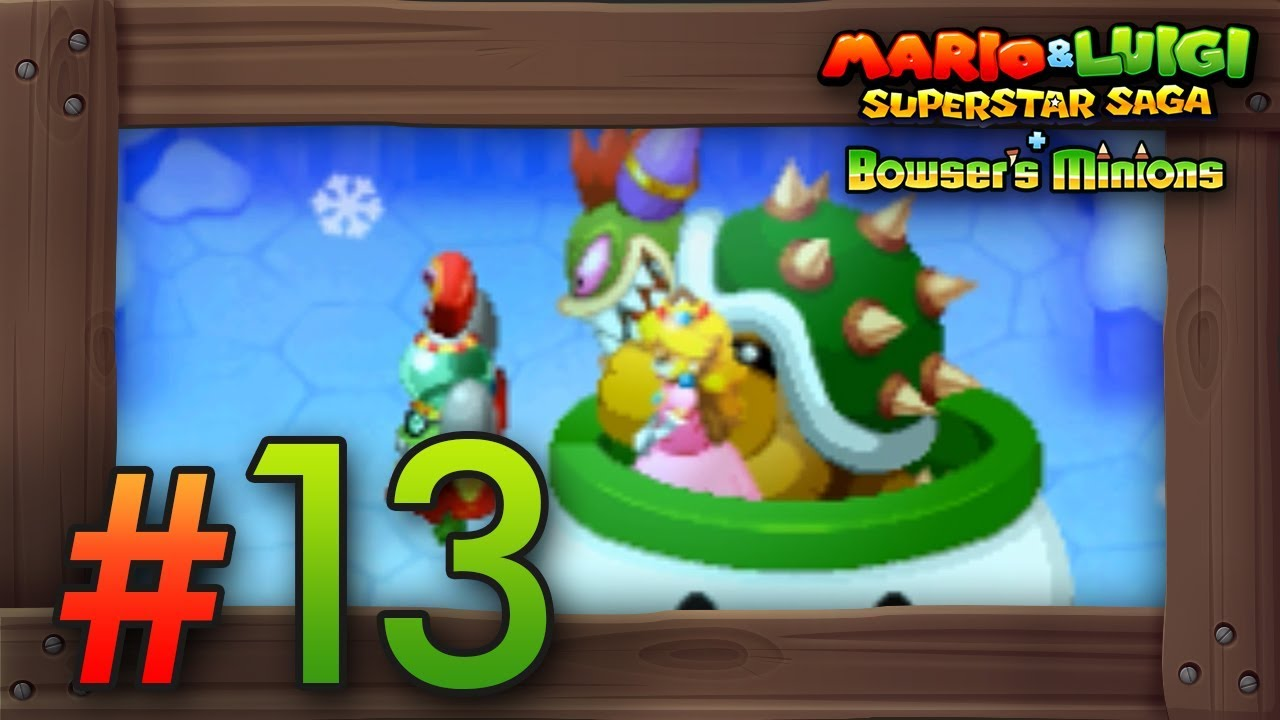 Mario Luigi Superstar Saga Bowser S Minions Walkthrough Part