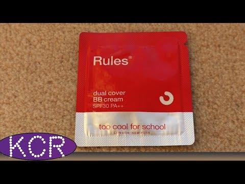 ВВ КРЕМ ДЛЯ ЖИРНОЙ И ПРОБЛЕМНОЙ КОЖИ // Rules of Trouble Dual Cover BB Cream от Too Cool for School
